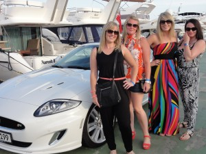 The team from Manor Dental Health Hull lets off some steam in Palma